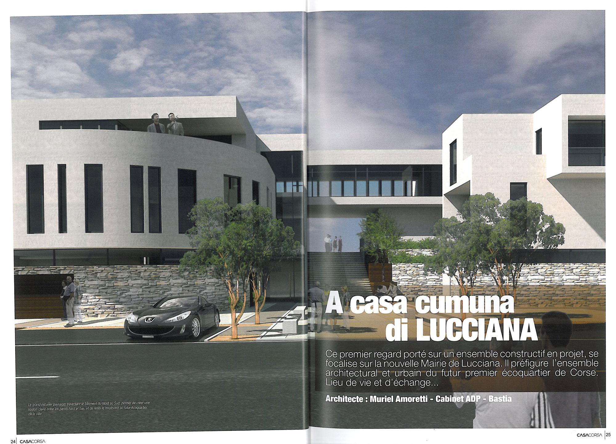 Casa Corsa – Centre administratif Lucciana