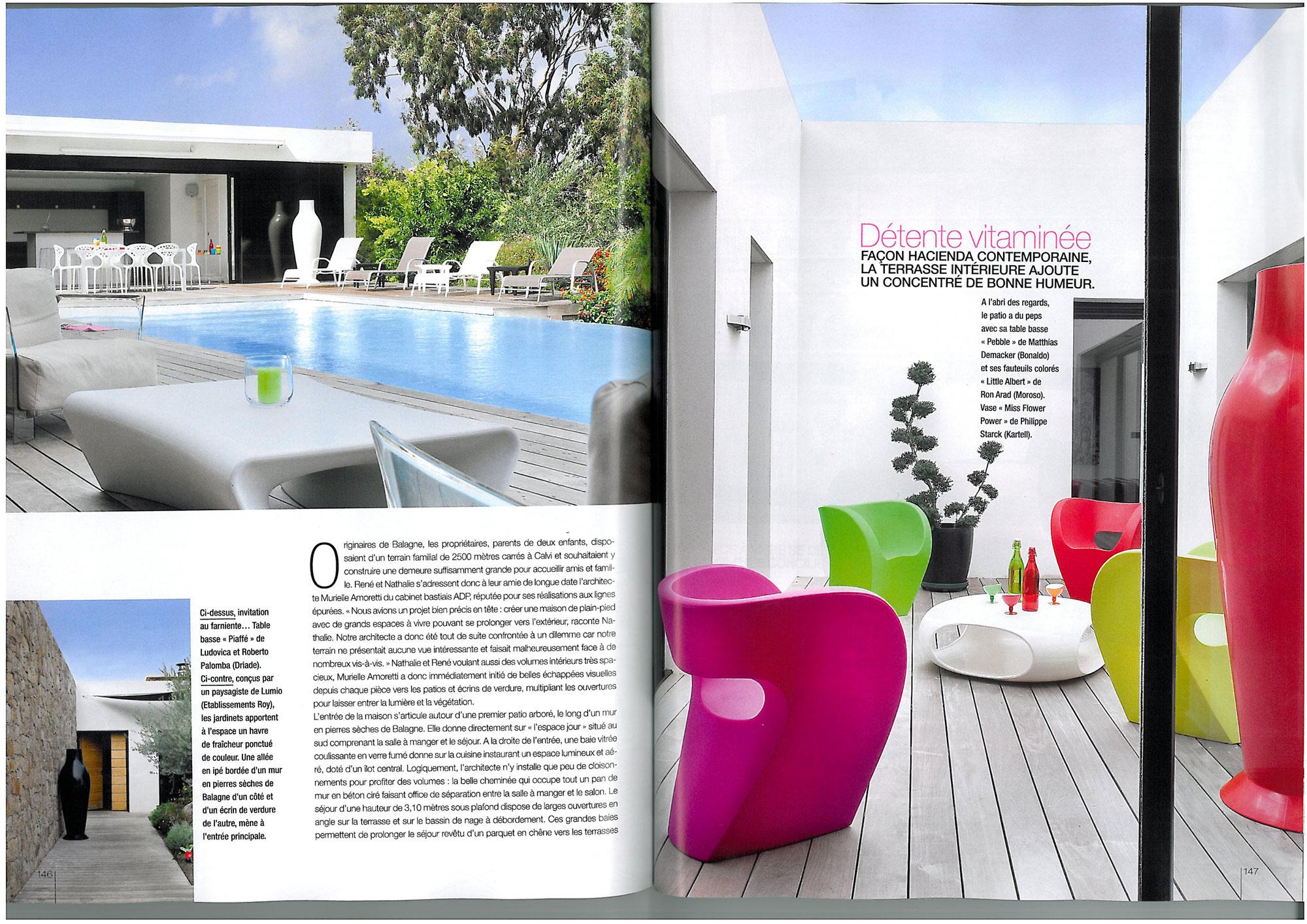 Résidence et décoration – maison Navarro Calvi